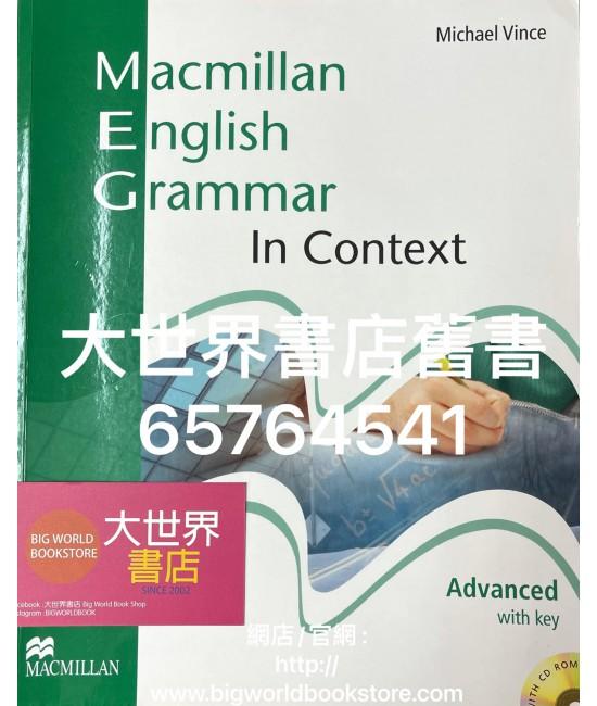 Macmillan English Grammar in Context Advanced (With key w/CD) 2008