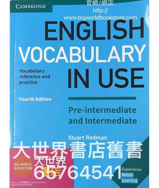 Cambridge English Vocabulary in Use Pre-intermediate and intermediate (with Answers)(Fourth Edition)(2017)