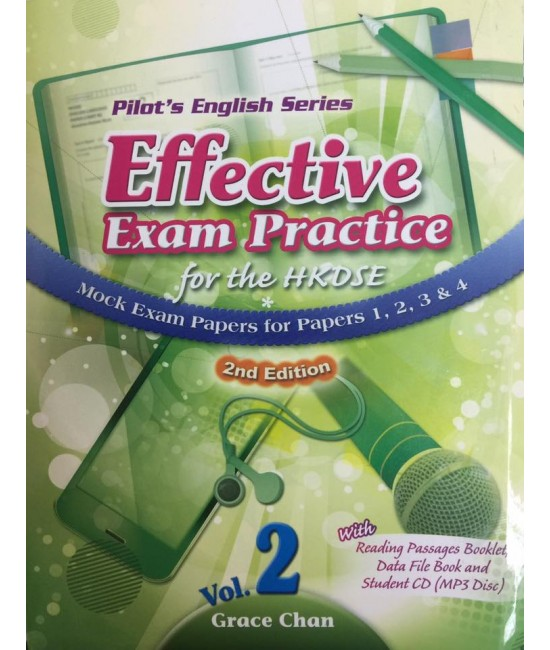 Effective Exam Practice for the HKDSE Mock Exam Papers for Papers 1,2,3&4 Vol.2