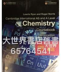 Cambridge I. AS & A Level Chemistry Coursebook (2rd Edition)2014
