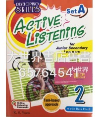 Developing Skills: Active Listening for Junior Secondary Learners (Set A) 2
