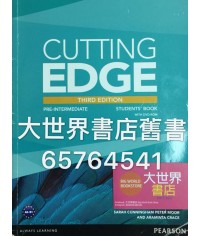 CUTTING EDGE (3E) Pre- Intermediate SB+DVD