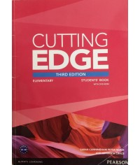 CUTTING EDGE (3E) ELEMENTARY SB+DVD