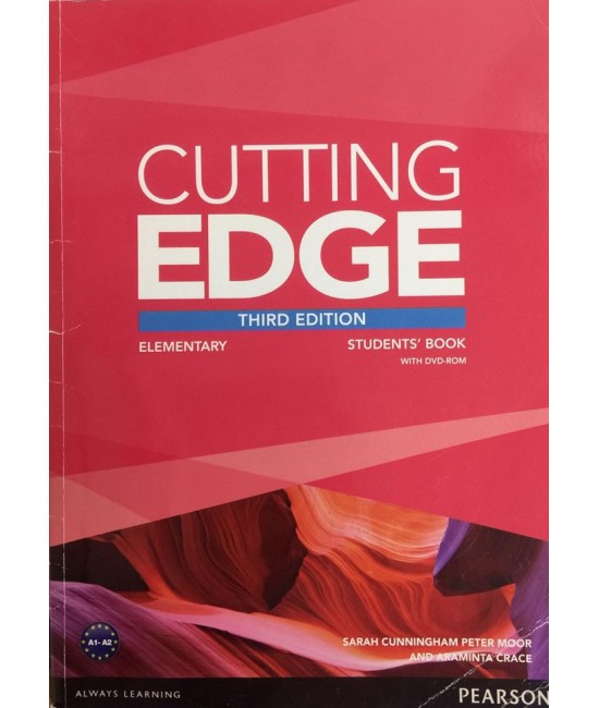 CUTTING EDGE (3E) ELEMENTARY SB+DVD