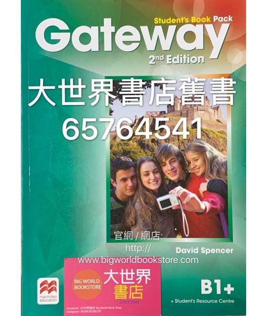 Gateway B1+ Student Book(2nd edition)2015