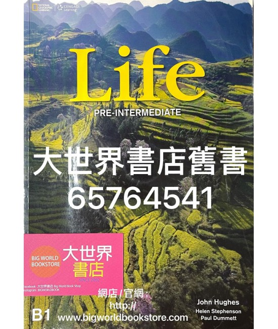 Life Pre-Intermediate (SB+DVD) Student book (2013)